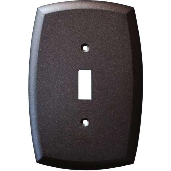Mandara Cocoa Bronze Single 1 Toggle Light Switch Plates