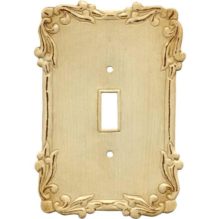 Mariah Single 1 Toggle Light Switch Plates