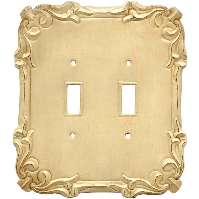 Mariah Double 2 Toggle Switch Plate Covers