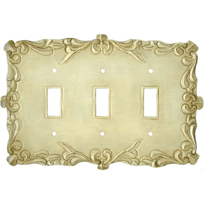 Mariah Triple 3 Toggle Light Switch Covers