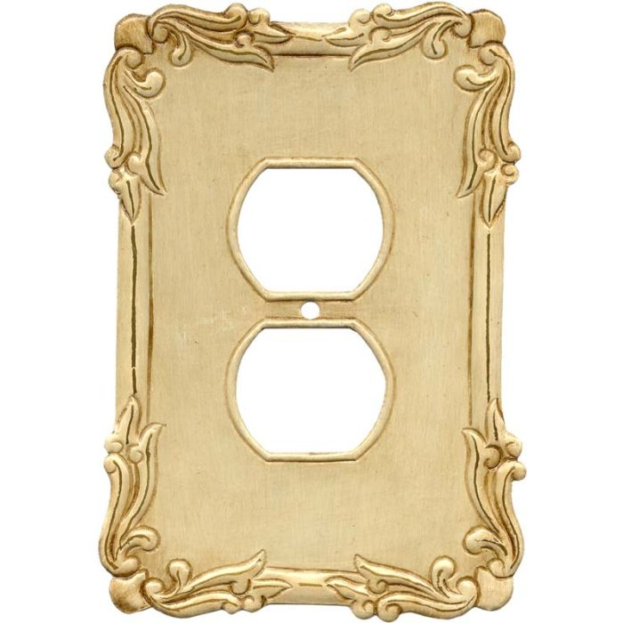 Mariah 1 Gang Duplex Outlet Cover Wall Plate