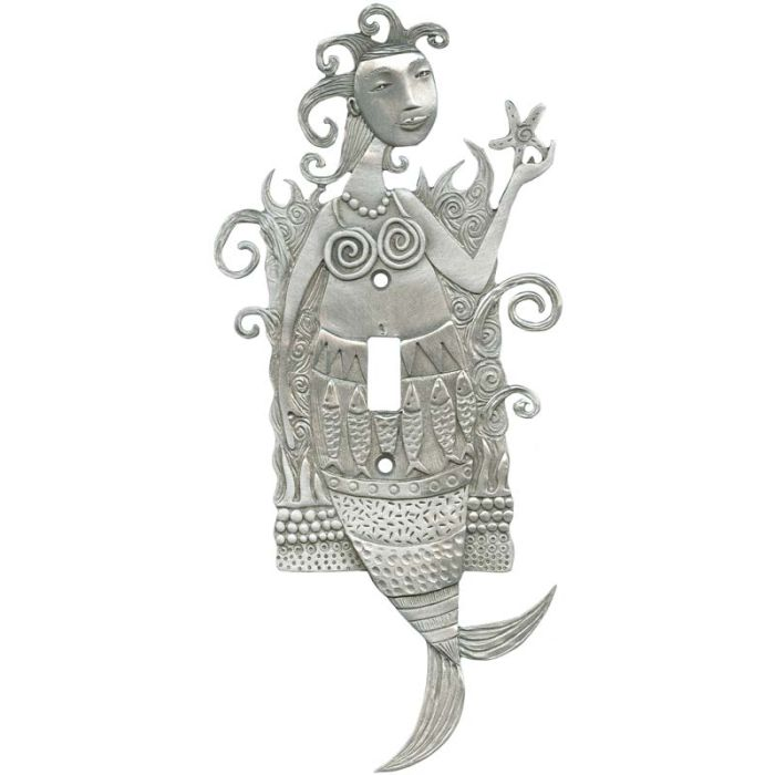 Mermaid and the Sea Single 1 Toggle Light Switch Plates