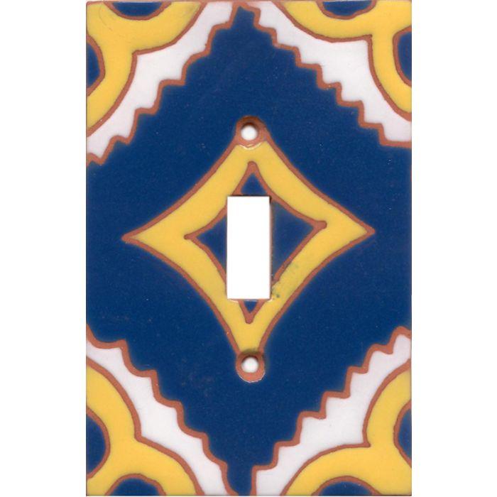Mexitile DiamondSingle 1 Toggle Light Switch Plates