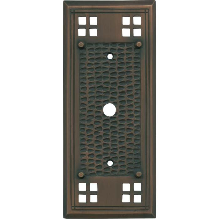 Mission Classic Antique Copper - Cable Wall Plates