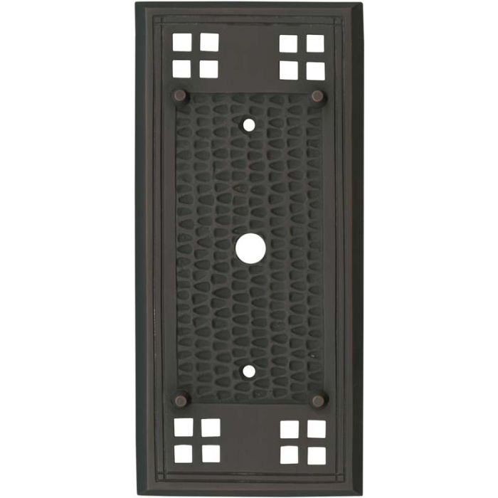 Mission Classic Oil Rubbed Bronze - Cable Wall Plates