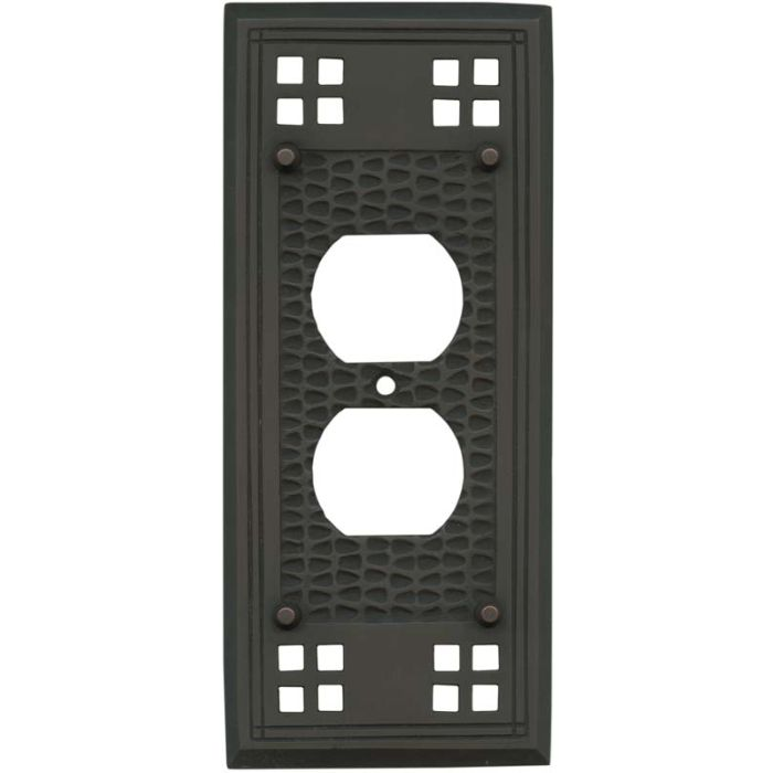 Mission Classic Oil Rubbed Bronze - Outlet Covers