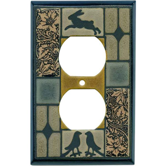 Mission Tile Ceramic Wall Plates