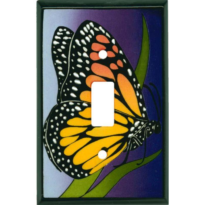 Monarch Ceramic1 Toggle Light Switch Cover