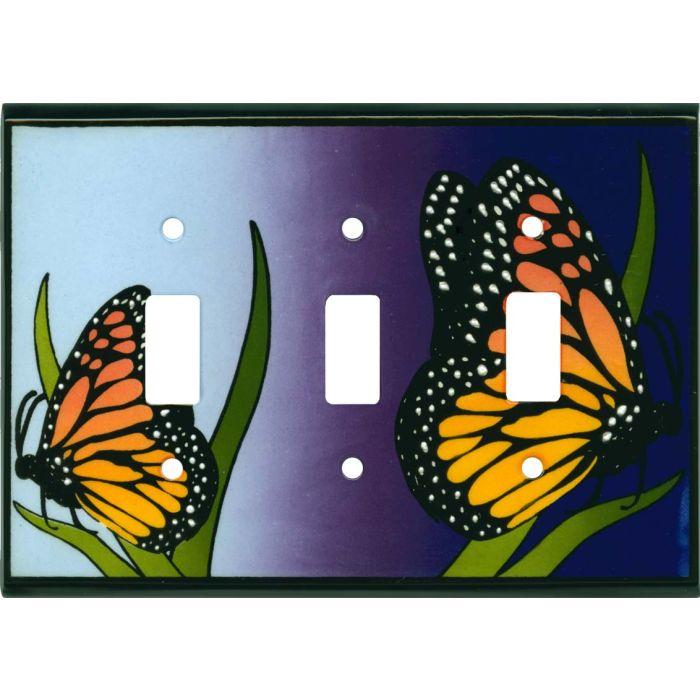 Monarch Ceramic3 - Toggle Switch Plates