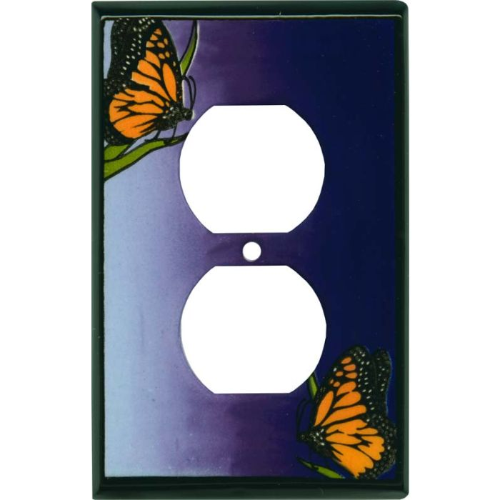 Monarch Ceramic1 - Gang Duplex Outlet Cover Wall Plate