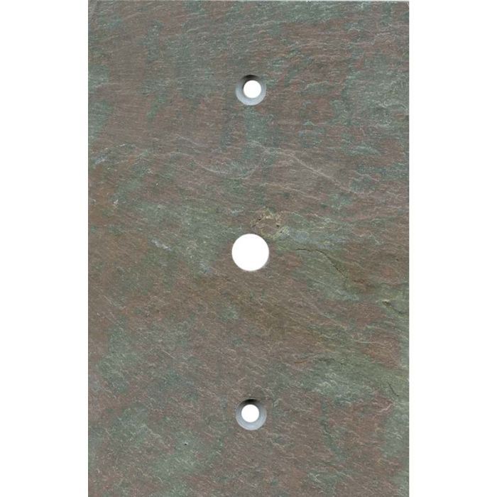 Vermont Mottled Slate Coax Cable TV Wall Plates
