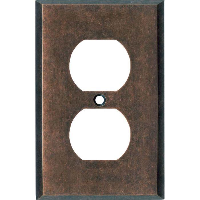 Mottled Antique Copper - Outlet Covers