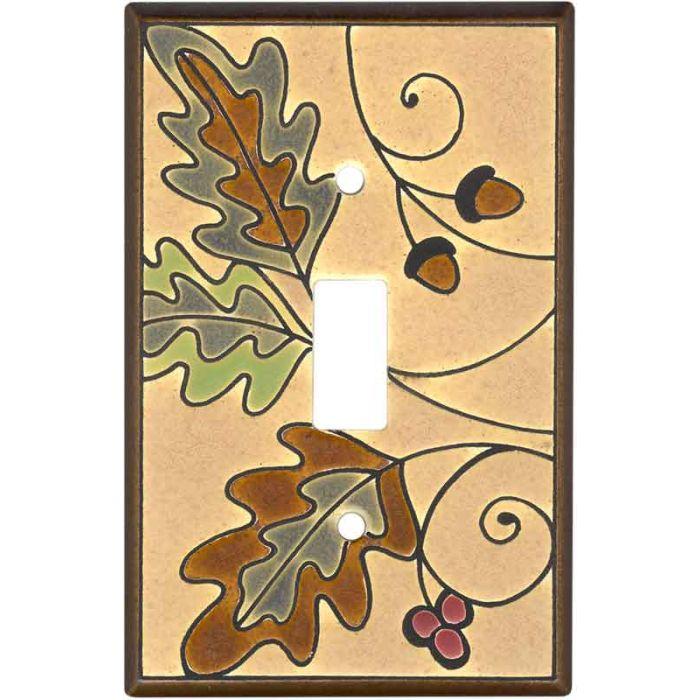 Oak Leaves Ceramic