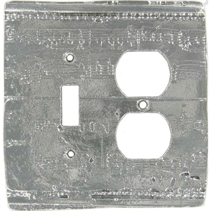 Old Sheet Music Combination 1 Toggle / Outlet Cover Plates