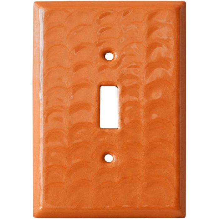Orange Motion - 1 Toggle Light Switch Plates