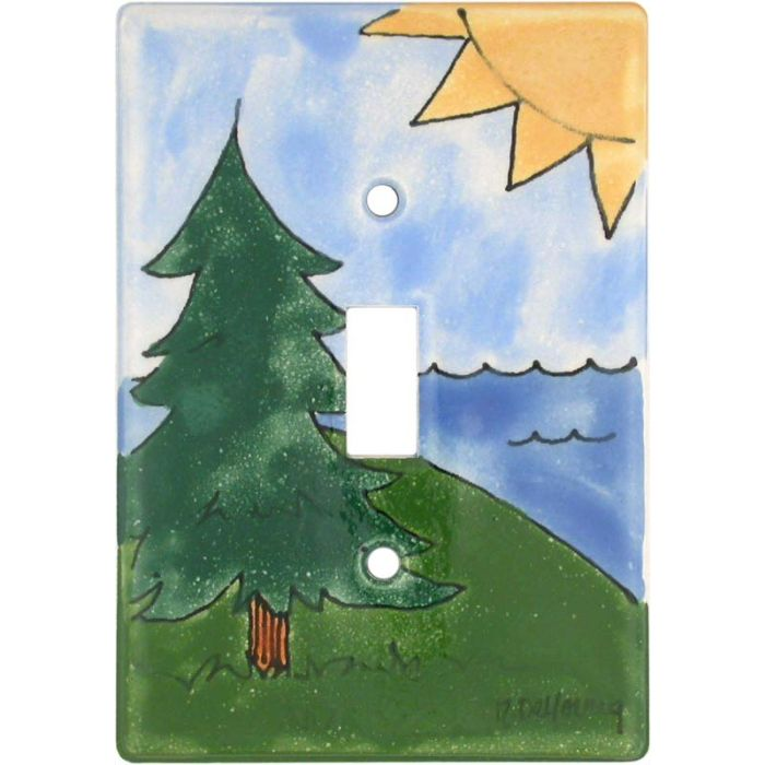Outdoor Single 1 Toggle Light Switch Plates