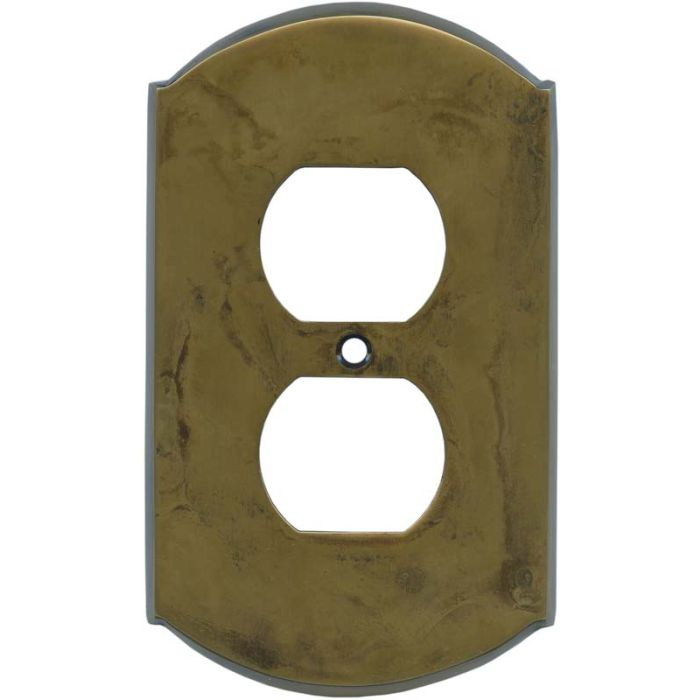 Ovalle Dappled Antique Brass - Outlet Covers