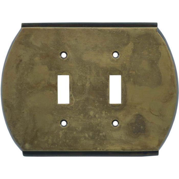 Ovalle Dappled Antique Brass