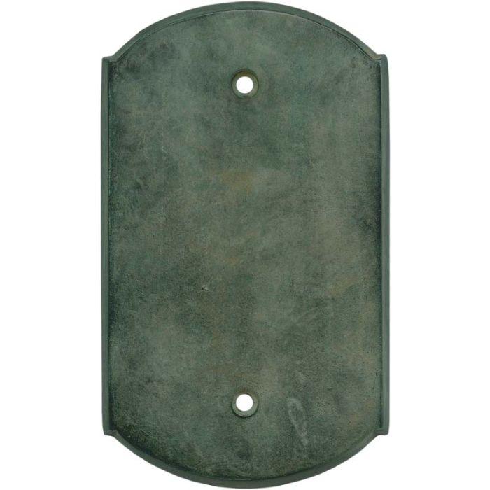 Ovalle Verdigris - Blank Wall Plates