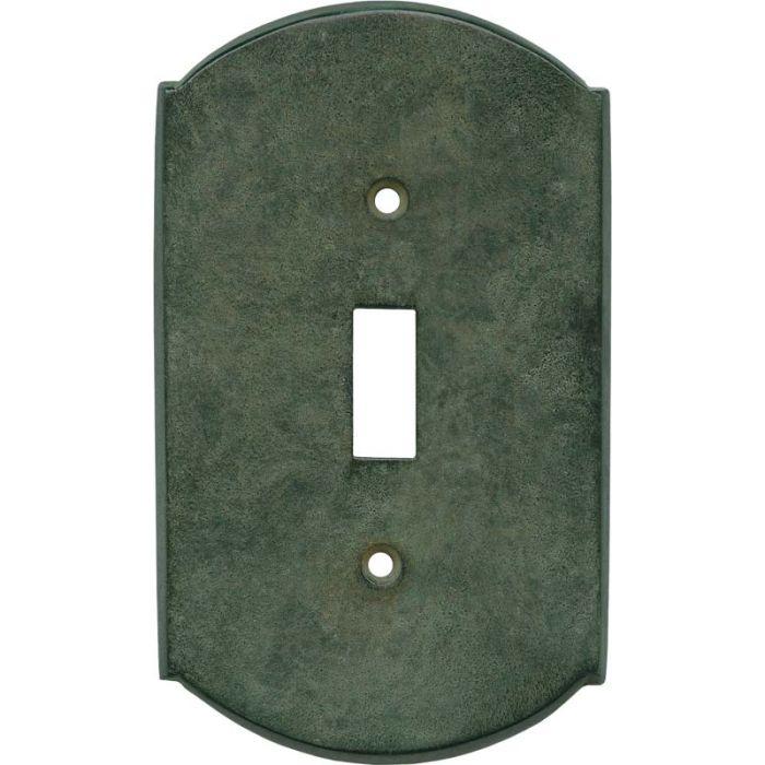 Ovalle Verdigris Single 1 Toggle Light Switch Plates