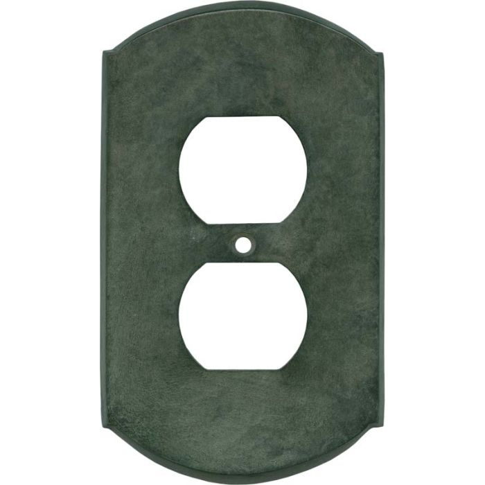 Ovalle Verdigris 1 Toggle Light Switch Cover