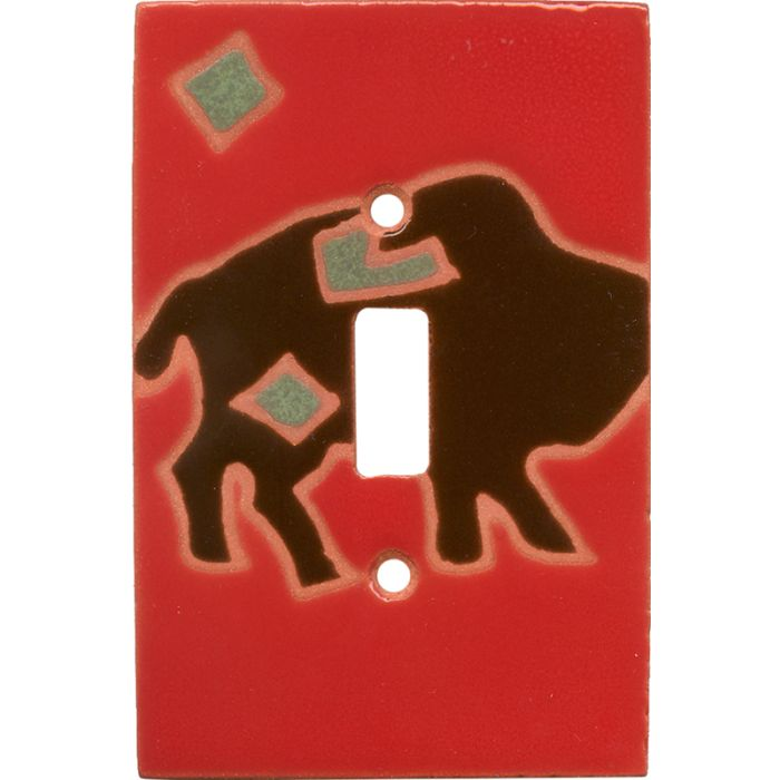 Petro Buffalo - Single Toggle Switch Plates