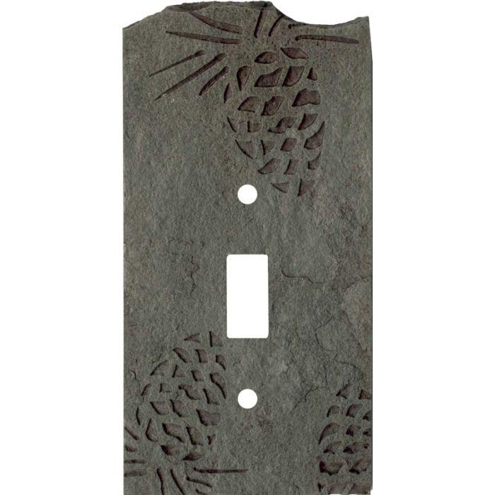 Pine Cone Petra Single 1 Toggle Light Switch Plates