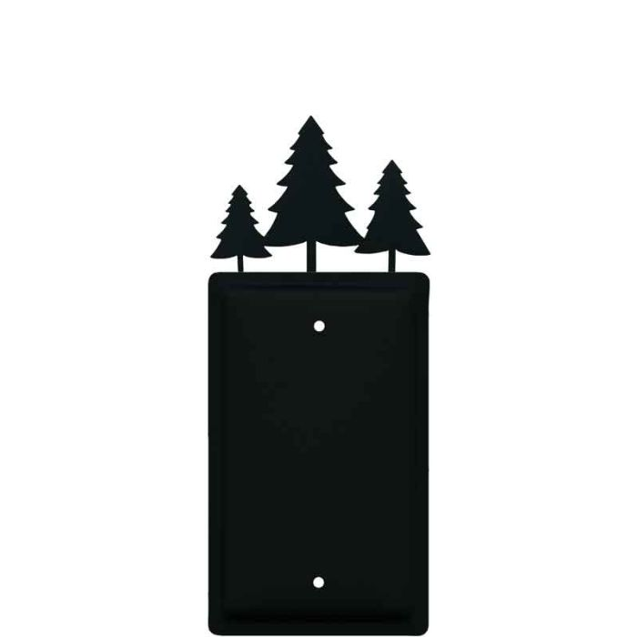 Pine Trees Blank Wall Plate Cover