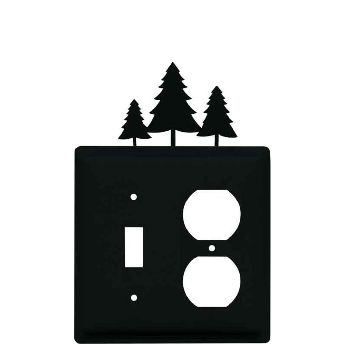 Pine Trees Combination 1 Toggle / Outlet Cover Plates