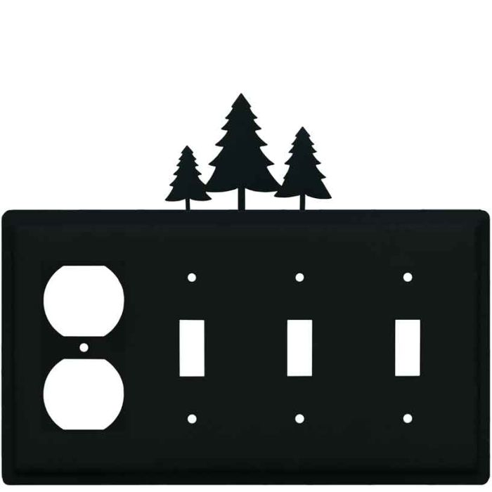 Pine Trees Wall Plates Outlet Covers