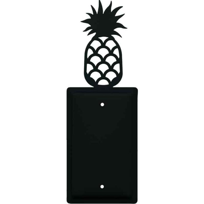 Pineapple 1 Gang Blank Wall Plates