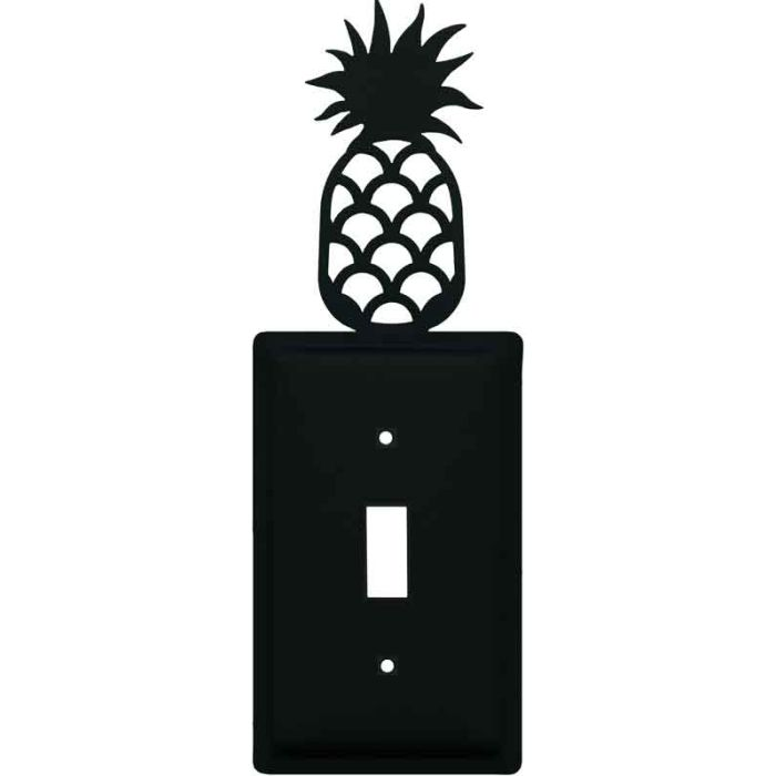 Pineapple Single 1 Toggle Light Switch Plates