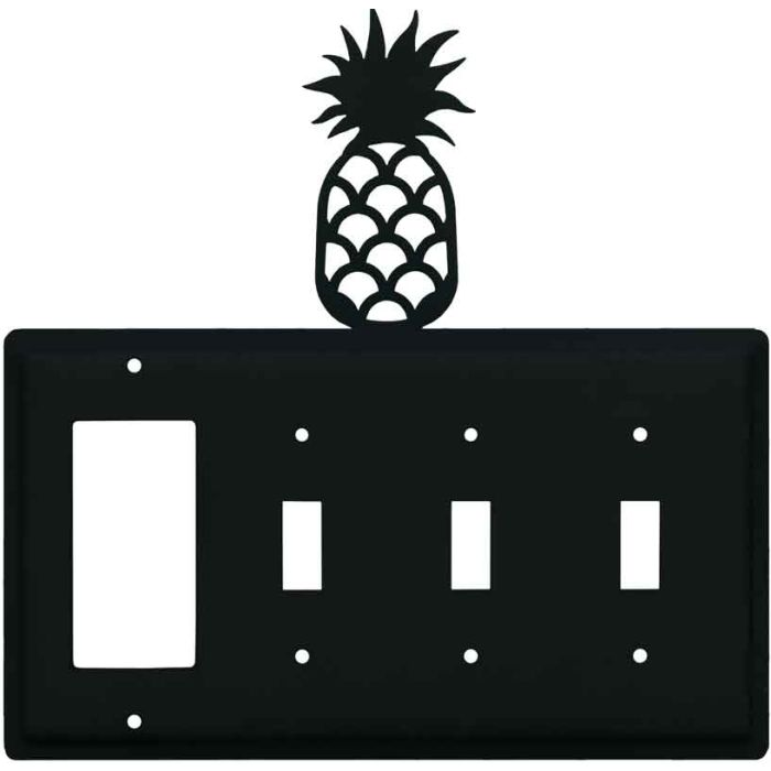 Pineapple 1-Gang GFCI Decorator Rocker Switch Plate Cover