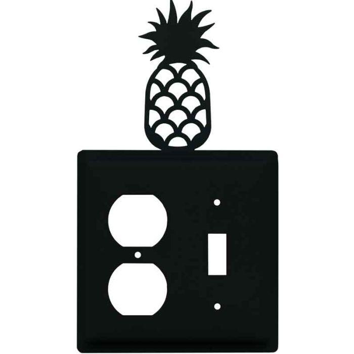 Pineapple 1-Duplex / 1-Toggle - Combination Wall Plates