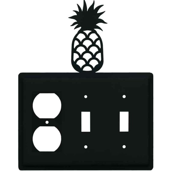 Pineapple 1 - Gang Duplex Outlet Cover Wall Plate