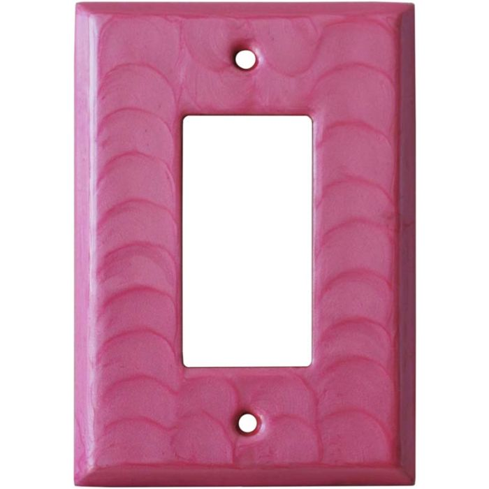 Pink Motion Single 1 Gang GFCI Rocker Decora Switch Plate Cover