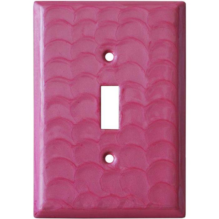 Pink Motion Single 1 Toggle Light Switch Plates
