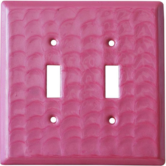 Pink Motion - 2 Toggle Switch Plate Covers