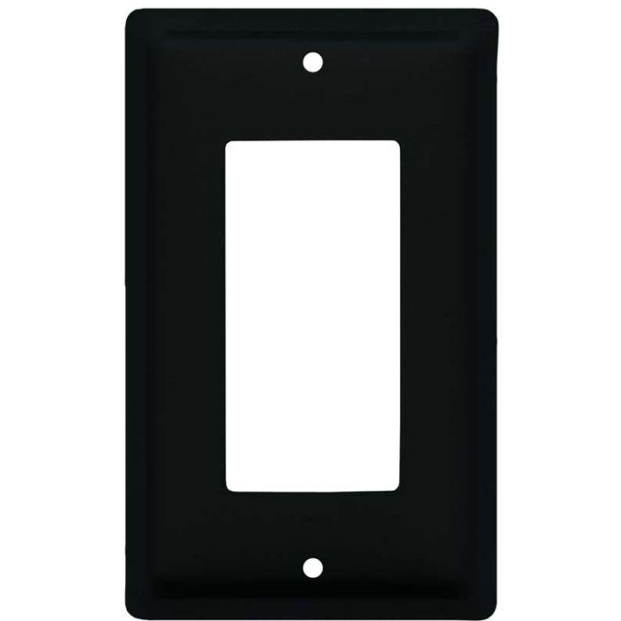 Plain Single 1 Gang GFCI Rocker Decora Switch Plate Cover