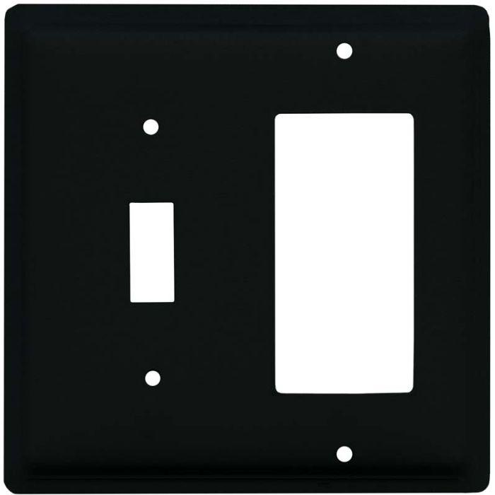 Plain Combination 1 Toggle / Rocker GFCI Switch Covers