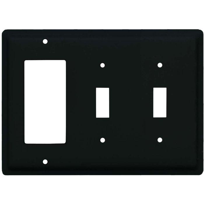 Plain 1-Gang GFCI Decorator Rocker Switch Plate Cover