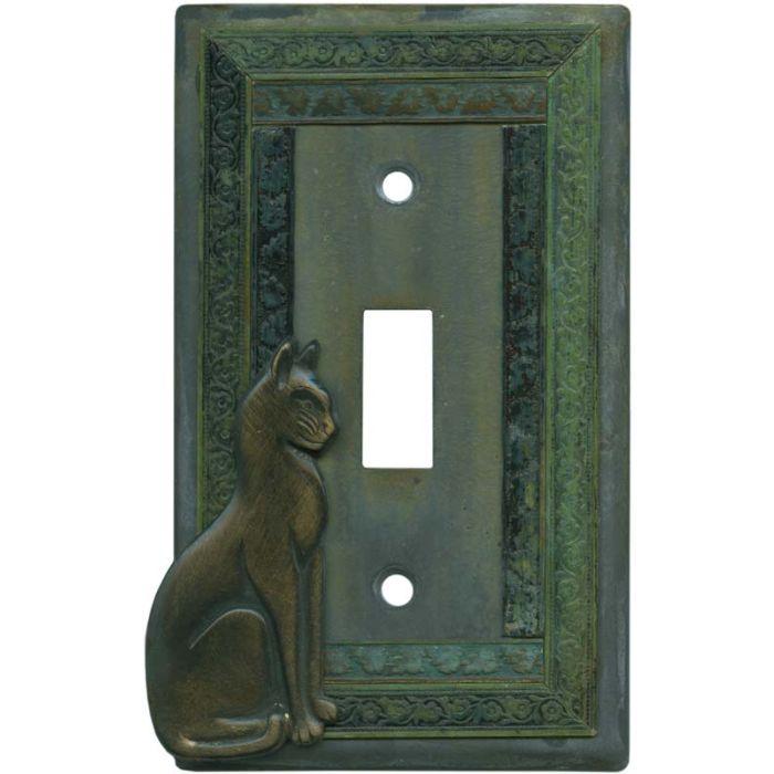 Precious Cat Single 1 Toggle Light Switch Plates