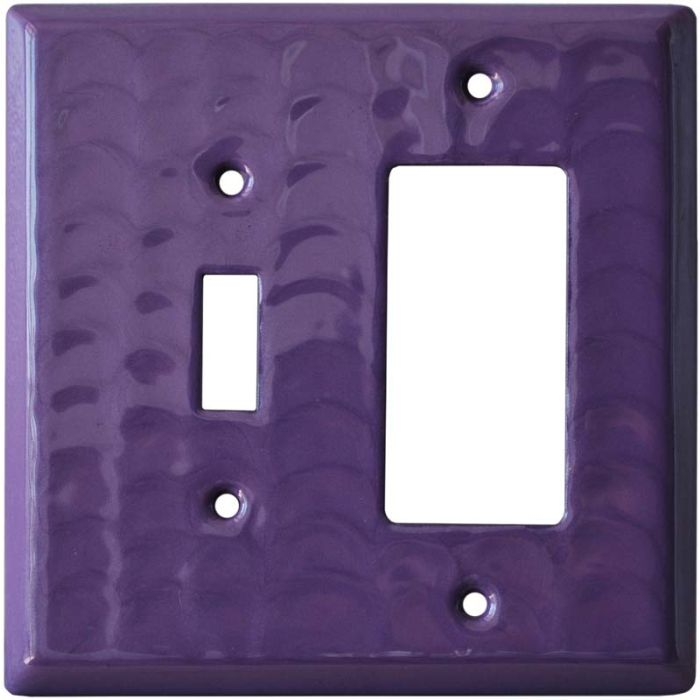 Purple Motion - Combination 1 Toggle/Rocker Switch Covers