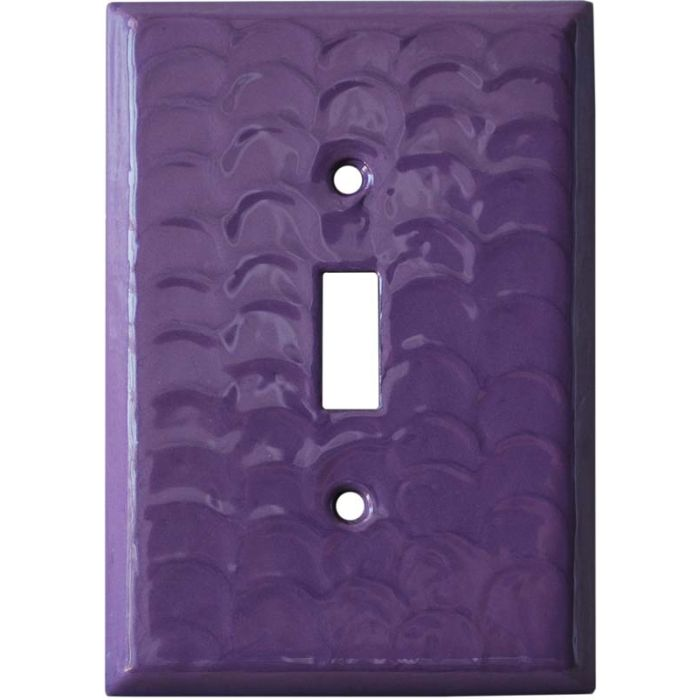 Purple Motion - 1 Toggle Light Switch Plates