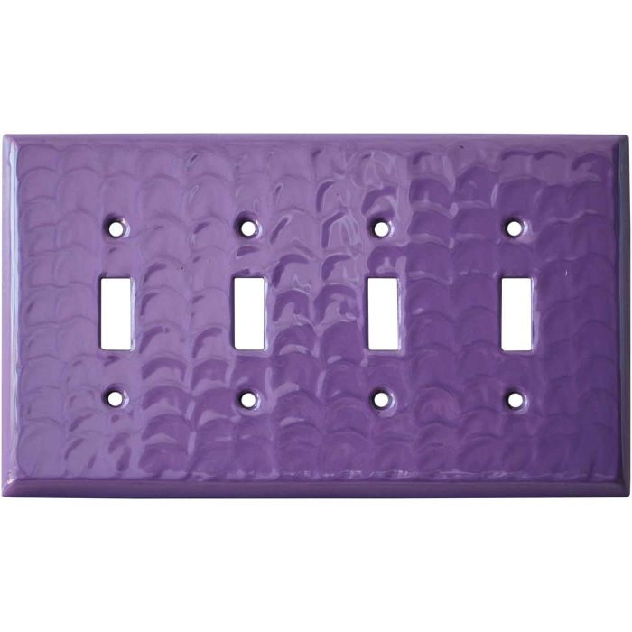 Purple Motion - 4 Toggle Light Switch Covers