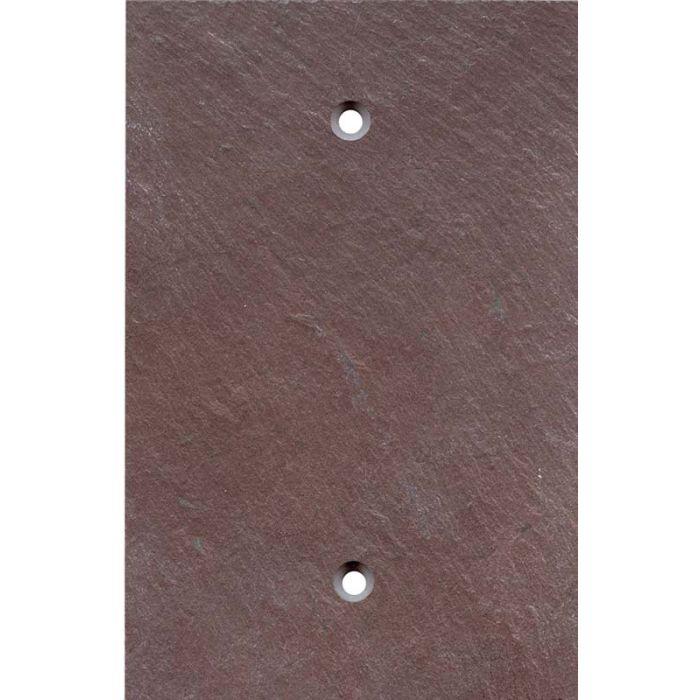 Vermont Purple Slate 1 Gang Blank Wall Plates