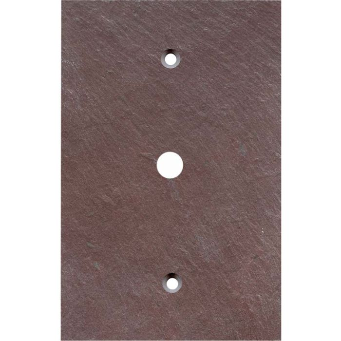 Vermont Purple Slate Coax Cable TV Wall Plates