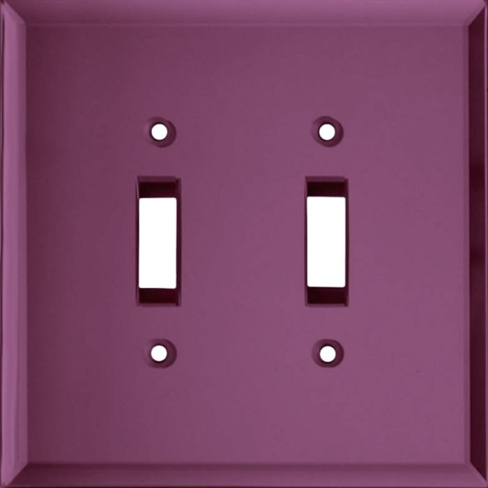 Glass Mirror Purple