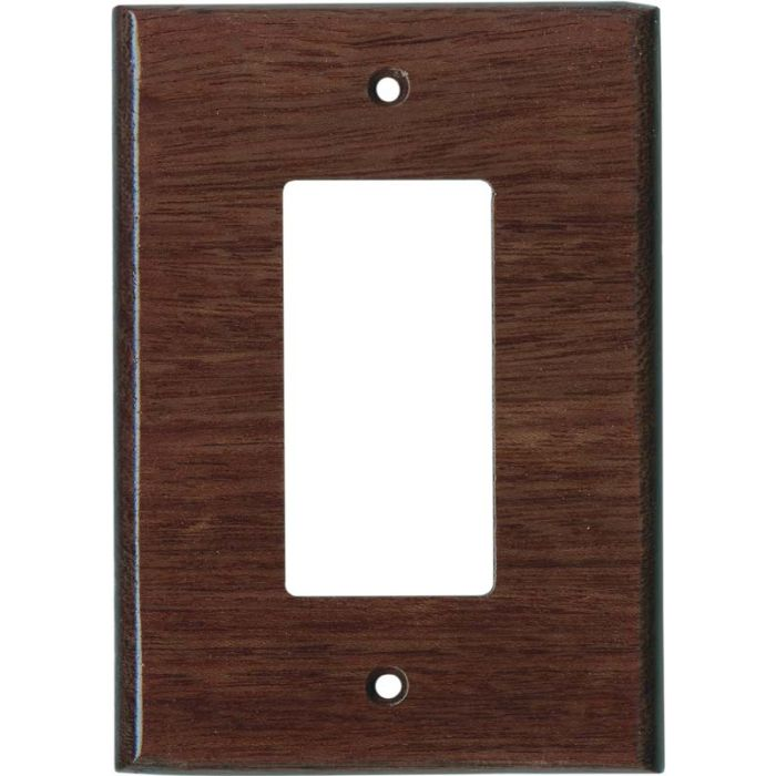 Purpleheart Satin Lacquer - GFCI Rocker Switch Plate Covers