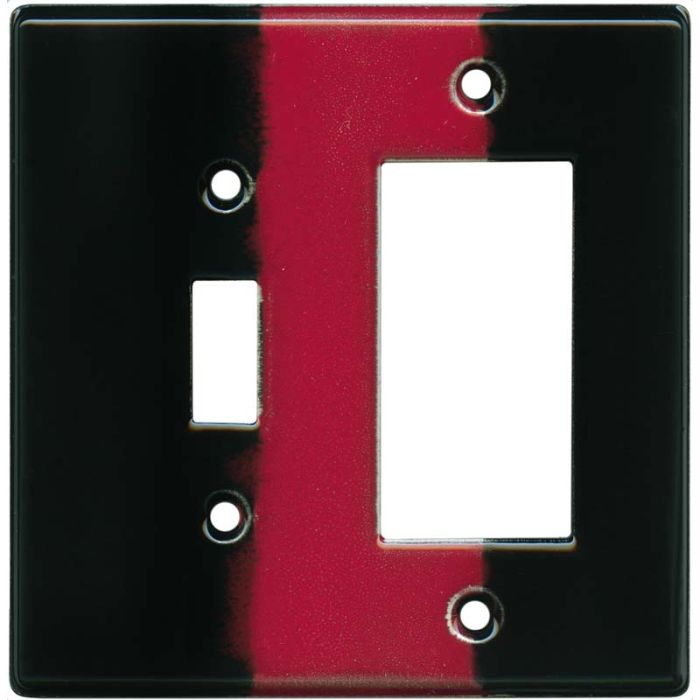 Race Car Combination 1 Toggle / Rocker GFCI Switch Covers